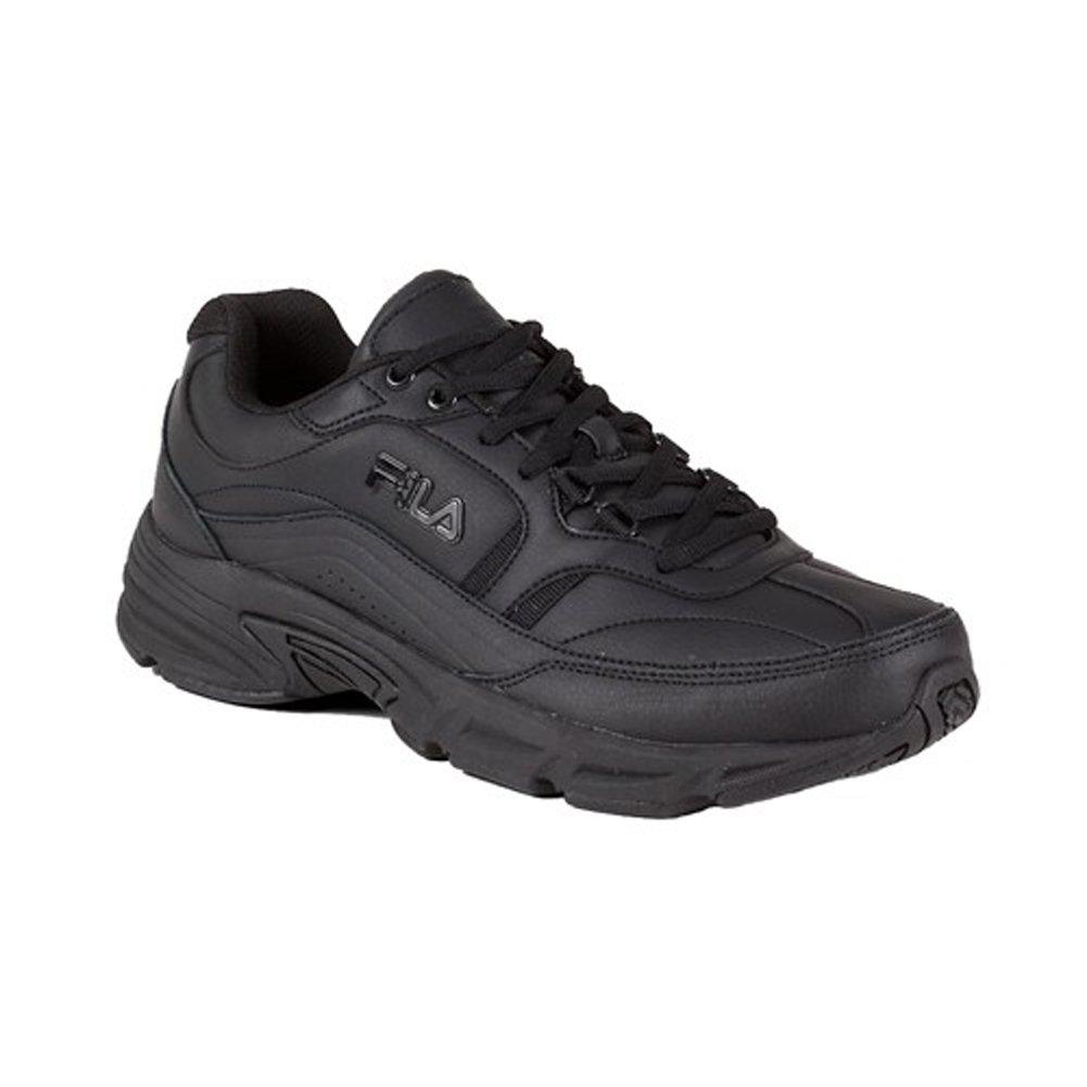 Fila Men's Memory Workshift Cross-Training Shoe,Black/Black/Black,10.5 M US by Fila