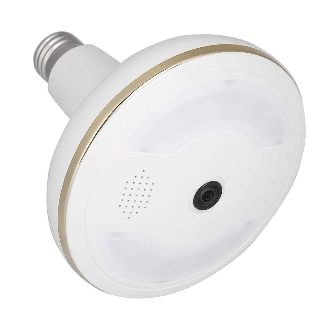 Ateboo 360°Intelligent Home Camera Infrared Night Vision Wireless WiFi Remote Monitoring