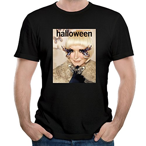 Martha Stewart Halloween Costume T Shirts Funny 100% Cotton Cool Shirt (Buddy Holly Halloween Costume)