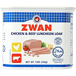 Zwan Luncheon Halal Meat, Chicken/Beef, 12 Ounce