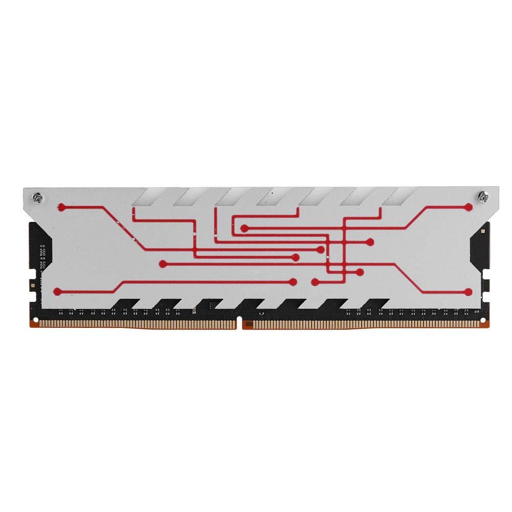 RAM DDR4 Bewinner Memory RAM، Speed 4GB DDR4 2400Mhz 284Pin RAM Memory PC Compatable Full Desktop PC با کلیپ خنک کننده ، عملکرد بهتر و مصرف کمتری را ارائه می دهد