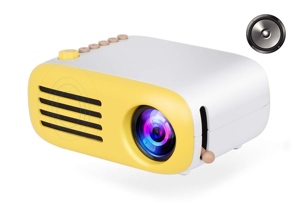 WHLDCD Proyector Mini LED Proyector de Bolsillo ...