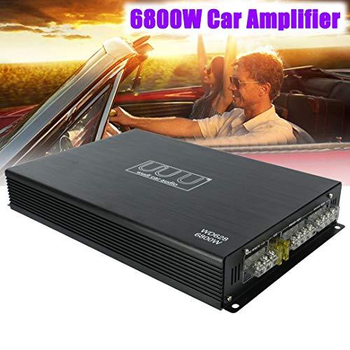 - 4 Channel Car Power Amplifier Class AB AMP Bridge Connection Bass for Sub Woofer