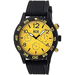 Mos AT104 Antwerp Mens WATch, Yellow
