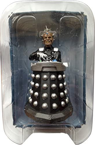 Figure #6 Doctor Who Figurine Collection Dalek Hand Painted 1:21 Scale Model Collector Boxed by Eaglemoss // Doctor Who
