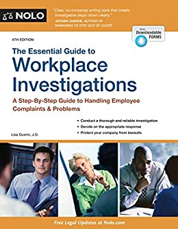 Essential guide to workplace investigations the a step by step essential guide to workplace investigations the a step by step guide to fandeluxe Choice Image