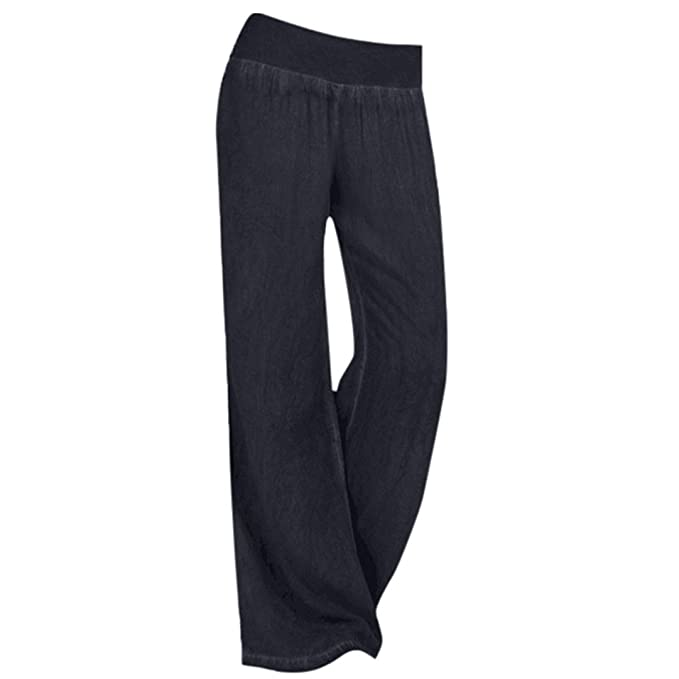9f23bfb486c HLHN Women Wide Leg Trousers
