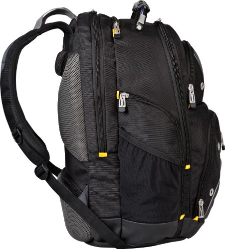 Targus Drifter II Backpack for 16-Inch Laptop, Black/Gray (TSB238US)