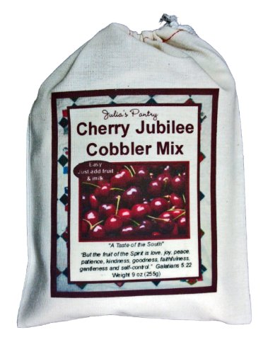 Cherry Cobbler Mix, with Fruit, in a Gift Bag by Julia's Pantry (Image #3)