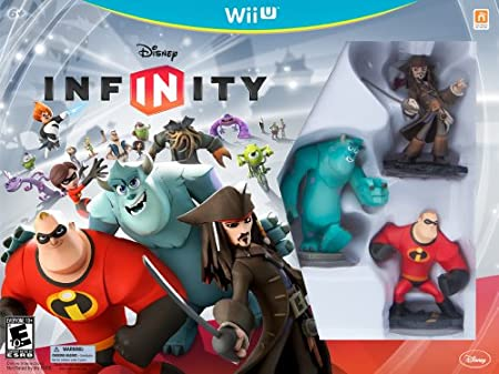 DISNEY INFINITY Starter Pack Wii U (including Mike Wazowski and Power Disc Pack)