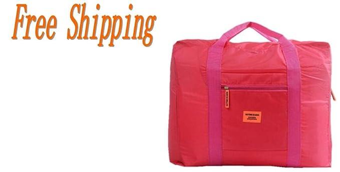 Amazon.com: Nylon impermeable plegable bolsa de viaje para ...
