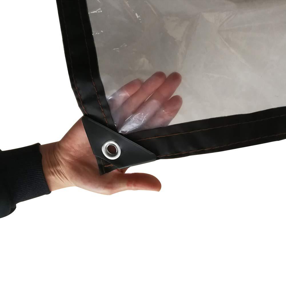 タープ プラスチック透明防水タパリン - 150g /平方メートルのターポリン製のプレミアムクオリティカバー (色 : A, サイズ さいず : 8M×10M) 8M×10M A B07JX8LVQJ