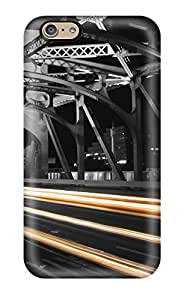 Frank J. Underwood's Shop Best 8028592K54522228 Perfect Fit Train Lights On Rails Case For Iphone - 6