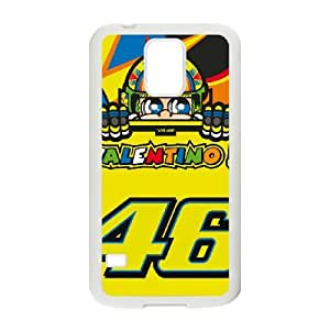 Samsung Galaxy S5 Cell Phone Case White Valentino Rossi fall