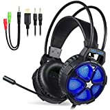 EasySMX Cool 2000 Stereo Gaming Headset for...