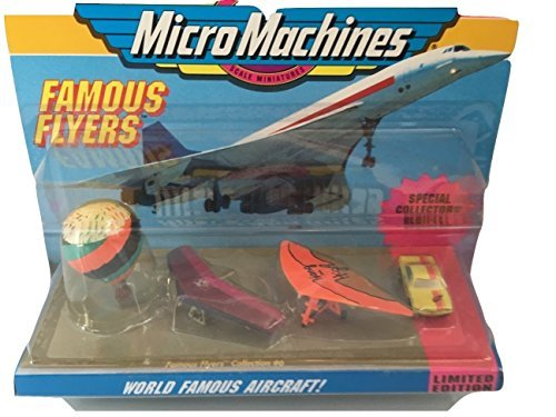 World Famous Aircraft Micro Machines #6 Collection by Galoob MicroMachines