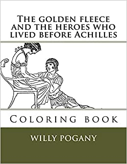 Hectors Body Dragged at the Chariot of Achilles coloring page ... | 336x260