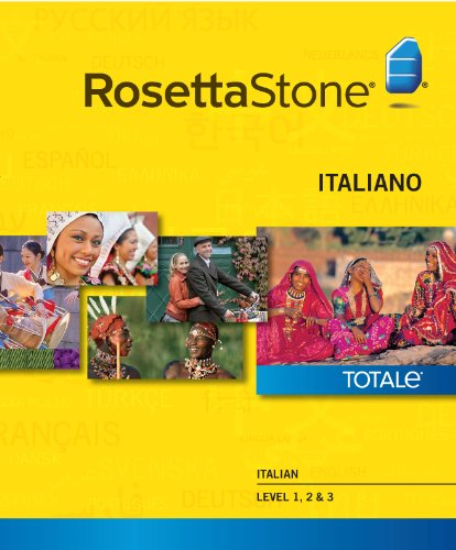 Rosetta Stone Italian Level 1-3 Set [Download]