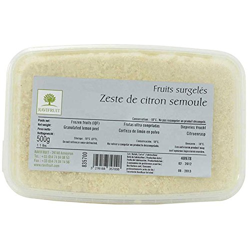 Lemon Zest, Frozen - 1 tub - 1.1 lb