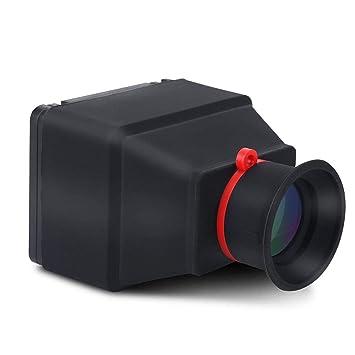 Mugast - Visor LCD para cámara réflex Digital (3 aumentos ...