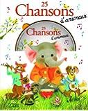 Une Souris Verte : 25 Chansons d'Animaux (avec un CD) - Dès 3 ans