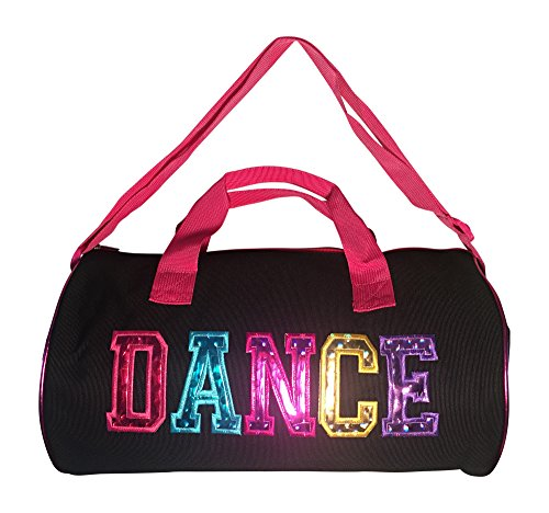 Dance-Duffel-Bag-With-Multicolored-Dance-Print