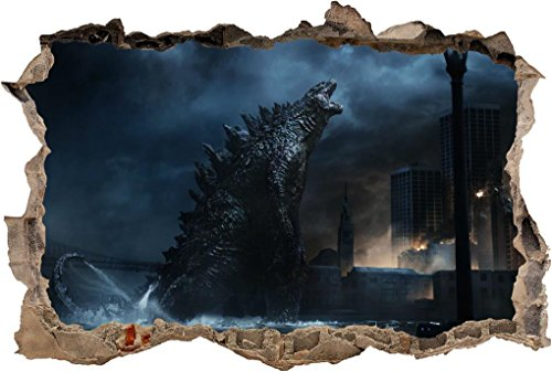 godzilla wall decal - 3