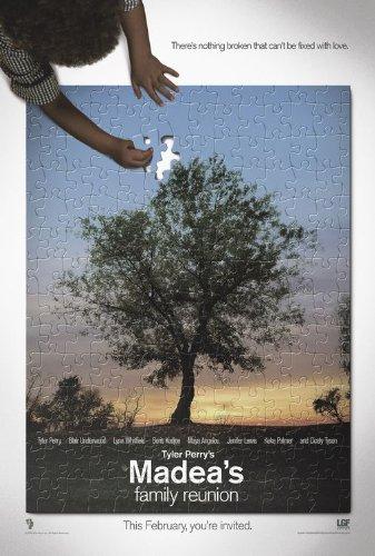 MADEA'S FAMILY REUNION (2006) Original Authentic Movie Poster - Dbl-Sided -27x40 - Tyler Perry - Blair Underwood - Lynn Whitfield - Boris Kodjoe