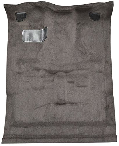 1982 to 1993 GMC S15 Sonoma Extended Cab Pickup Truck Carpet Custom Molded Replacement Kit, 4 Wheel Drive (853-Silver Plush Cut Pile)