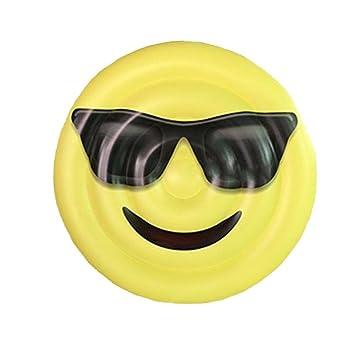 Emoji Gafas de sol Expresión Flotante Fila Sonrisa Flotante ...