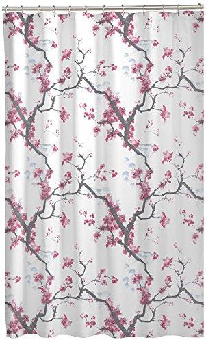 """51jWtgWQzgL - MAYTEX 7178001 Cherrywood Shower Curtain, Multi Floral, 70"""" x 72"""""""