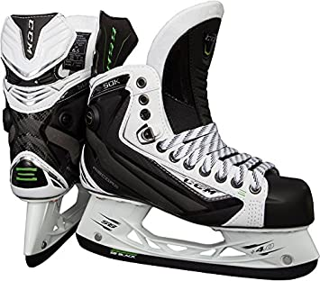 e0da9117d4f CCM RibCor 50K Ice Hockey Skates - White  JUNIOR