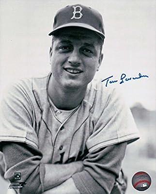 ad4de478b08 Signed Tommy Lasorda Picture - 8X10 LA Vintage Head Shot COA - Autographed  MLB Photos. Loading Images.