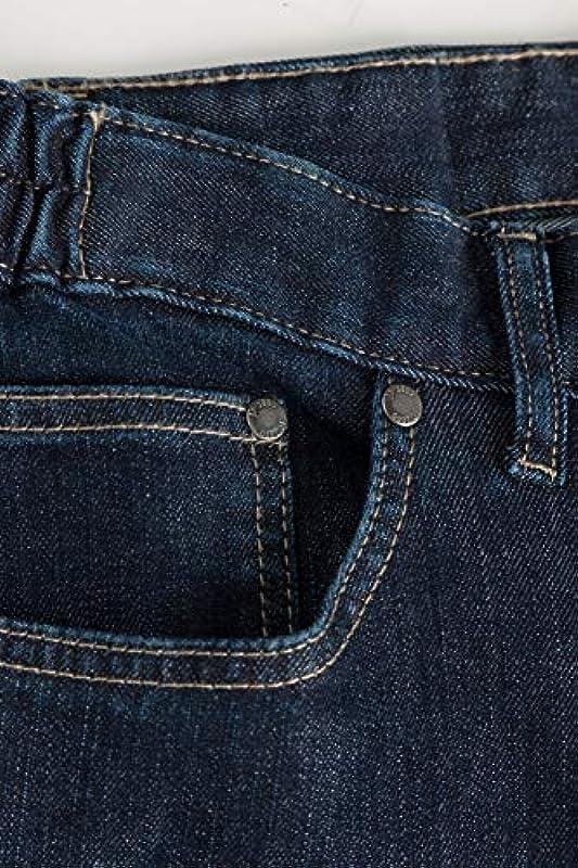 JP 1880 Dżinsy męskie z gumowym ściągaczem: Odzież