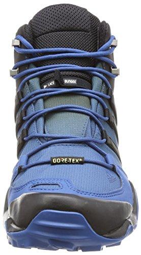blatiz adidas Azubas Mid Swift Wanderstiefel negbas R GTX Herren Blau Terrex rOr1gv