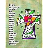 Des croix livre de coloriage niveau facile beau inspiré par la nature pour adultes enfants retraités domicile école travail hôpital utiliser pour décoration cadeau souvenir carte de voeux par l'artiste Grace Divine