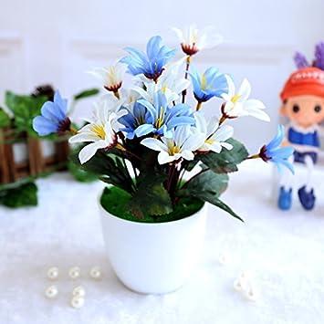 ZL-zzf getrocknete Blumen, plastikblumen, Simulation, Blumen ...