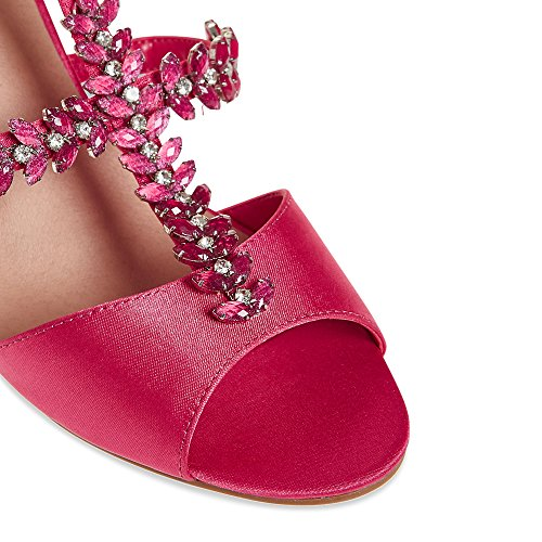 T Marks Stiletto amp;S M RRP Sandals Spencer T020009 Collection amp; Satin Bar Heel WR8n8gYp
