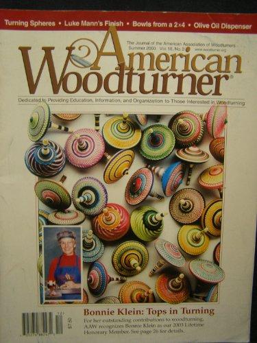 American Woodturner Magazine Summer, 2003