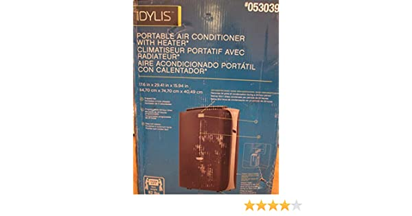 Amazon com: Idylis 13000 BTU Portable Air Conditioner: Home & Kitchen