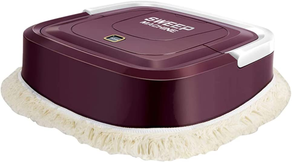 Balacoo Robot Cleaner Automatic Hair Cleaner Robot Vacuum Floor Mopping Machine for Pet Hair Hardwood Floors Medium-Pile Carpets