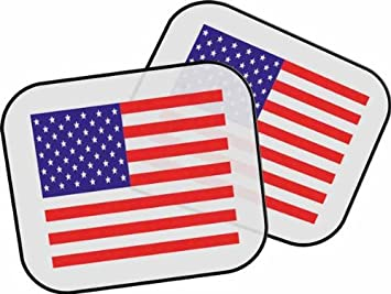 Personalised USA America Flag for Cars Sun Visor  Amazon.co.uk  Car ... b1837419f63