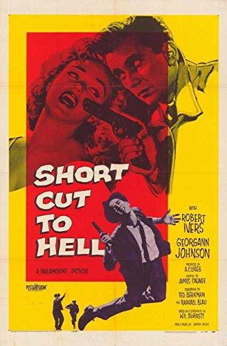 Barring Cut to Hell Poster 27x40 William Bishop Robert Ivers Georgann Johnson
