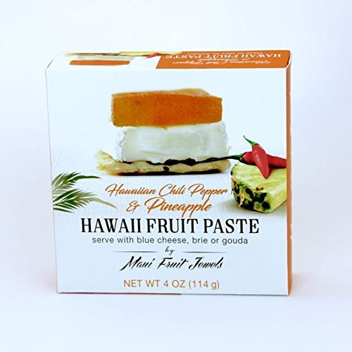 Hawaii Chili Pepper Pineapple Hawaii Fruit Paste by Maui Fruit Jewels