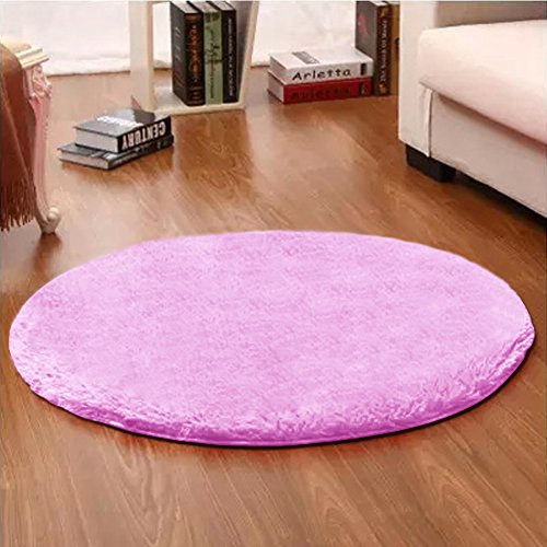 Free shipping lochas 4 feet round area rugs super soft for Round area rugs for living room