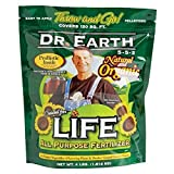Dr. Earth 736P Life Organic All Purpose Fertilizer In Poly Bag, 4-Pound