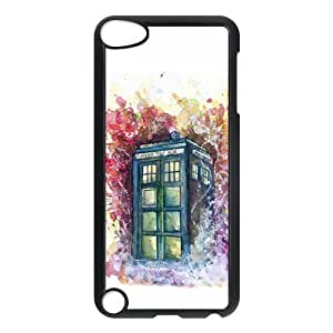 Fashion Protection Police Call Box Tardis Snap On Cover Case For iPod Touch 5th Generation