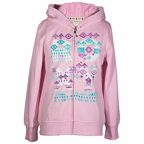 - Roxy Girls Hoodie Pink X-Small 5/6