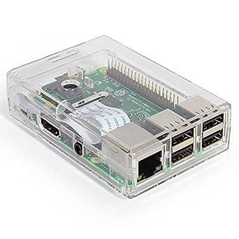 83-17540 - Carcasa Transparente para Raspberry Pi 3, 2 y B+: ...