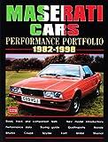 Maserati Cars, 1982-1998, R. M. Clarke, 1855205998